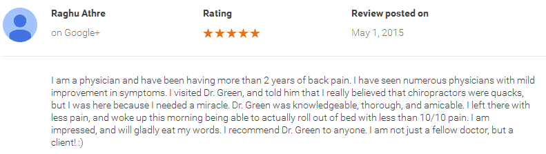surgeons review